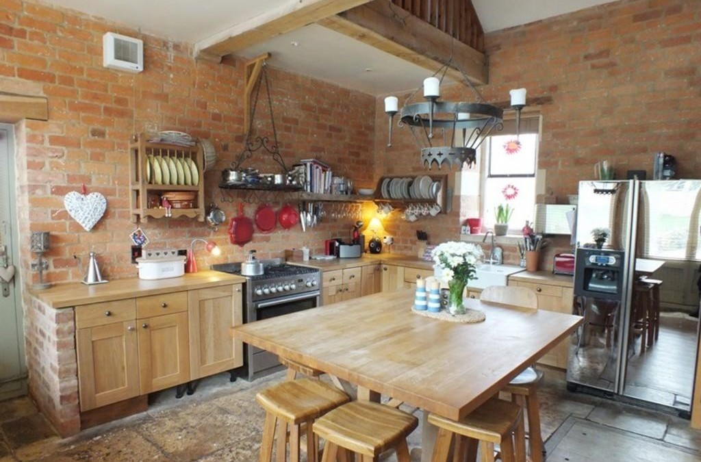 New wooden kitchen install in Avening,Gloucestershire